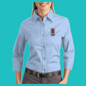 L612-B - Ladies-3/4 Sleeve Easy Care Shirt