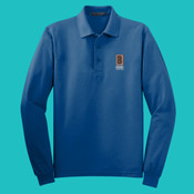 K500LS Polo  - Mens-Lg Sleeve Silk Touch™ Polo