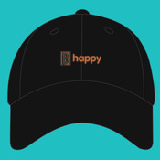 B Happy Hat - Brushed Twill Cap