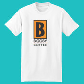 BIGGBY® DTG Veritical - Beefy T® 100% Cotton T Shirt