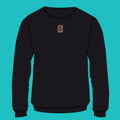 Embroidered Yoke - Ultimate Cotton Crewneck Sweatshirt