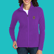 Embroider Fleece - Ladies Microfleece Jacket
