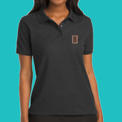 L500 Embroidered Polo - Ladies-Silk Touch™ SS Polo
