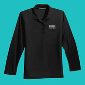 L500LS-B Ladies-Lg Sleeve Silk Touch™ Polo