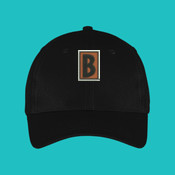 B Icon Hat - Six Panel Twill Cap