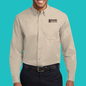 Mens S608 BIGGBY® - Long Sleeve Easy Care