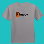 B happy- reg film with blk. let - Nano T®-Cotton T Shirt