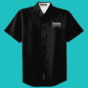 BIGGBY® S508 Mens Short Sleeve Easy Care Shirt
