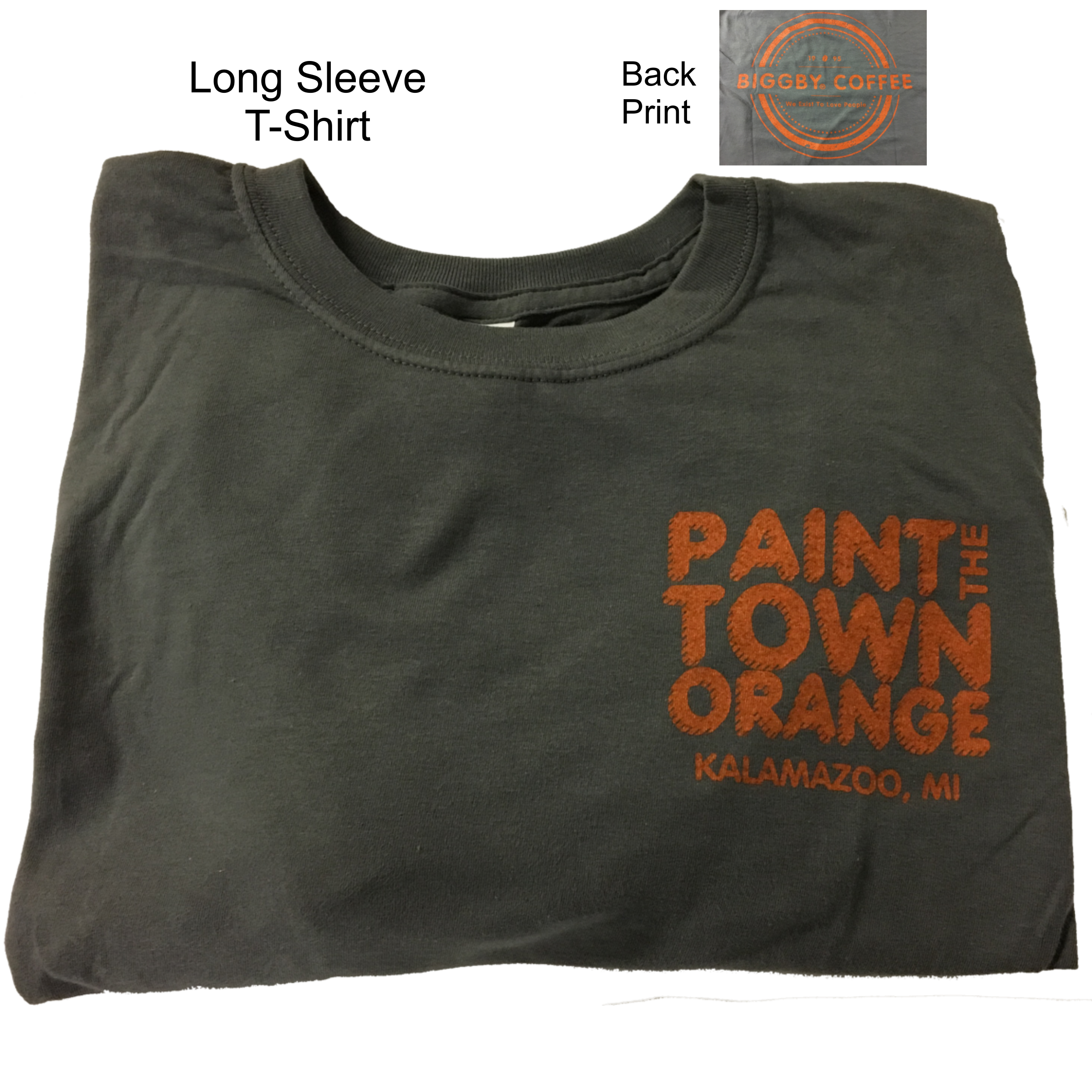 Paint Town Long Sleeve T Shirt Biggby